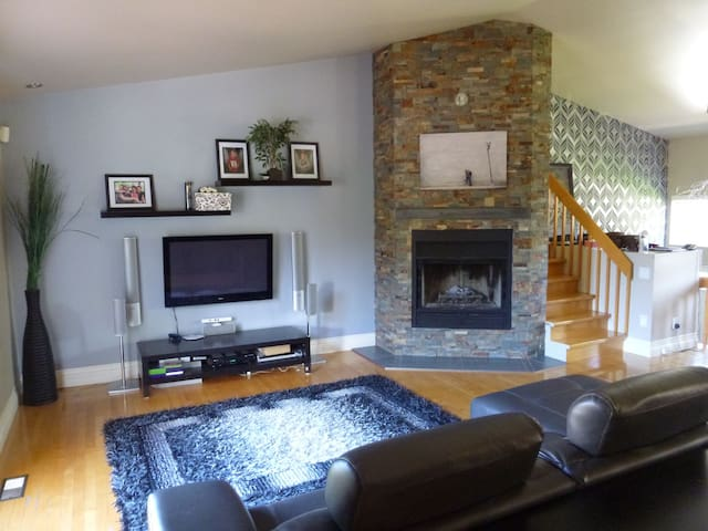 Open concept house near Quebec city - Lévis - House