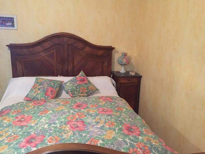 """Chambre """"serin"""" dans maison calme avec jardin"""