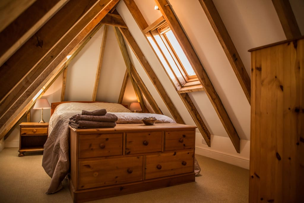 Galleried bedroom