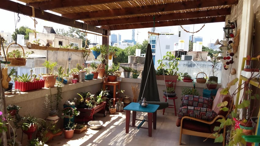 """kibbutz""  in the heart of Tel Aviv - Tel Aviv-Yafo - Leilighet"