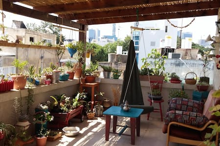 """kibbutz""  in the heart of Tel Aviv - Tel Aviv-Jaffa - Huoneisto"