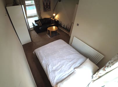 Spacious double room with views for 4 people max - House