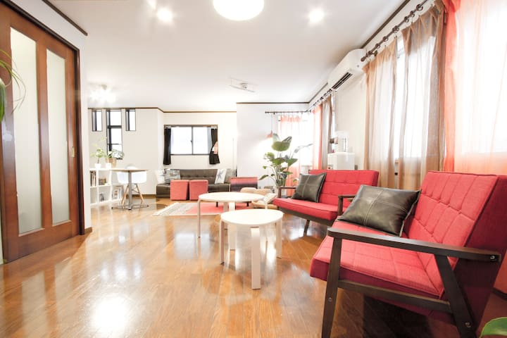 Enjoy the huge house☆Easy around the central TOKYO