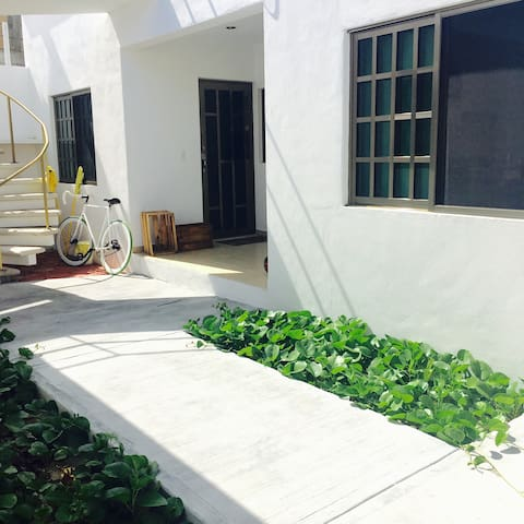Casa Natalya at The Beach, one bed, - Puerto Morelos  - Apartemen
