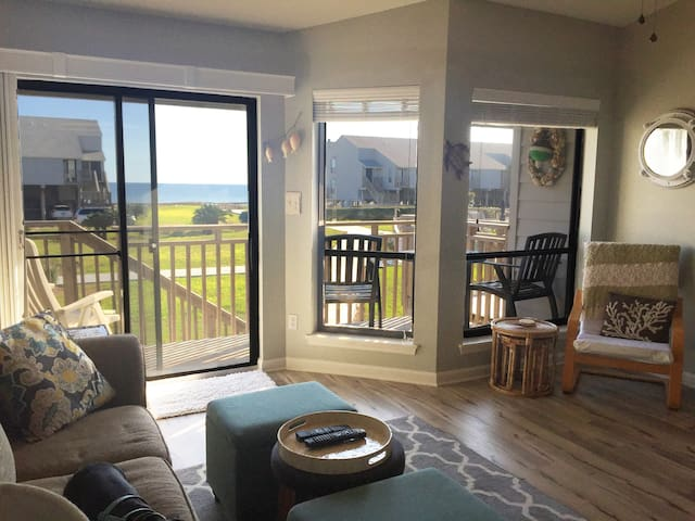 Beach townhouse with ocean view! - St. George Island - Apartemen