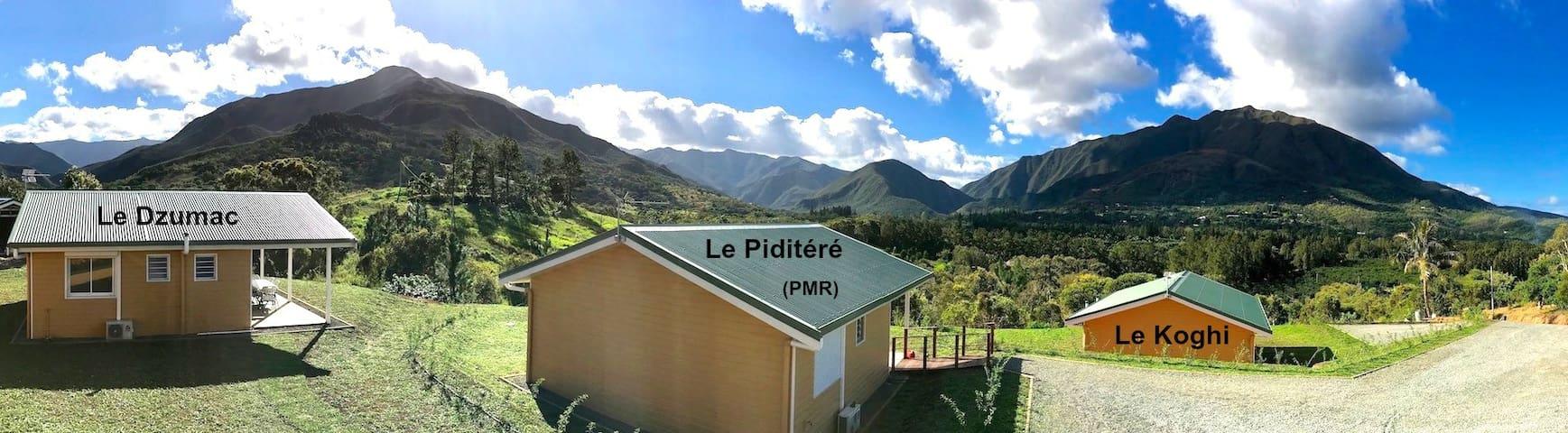 Gite Le Panoramique - Chalet Piditéré