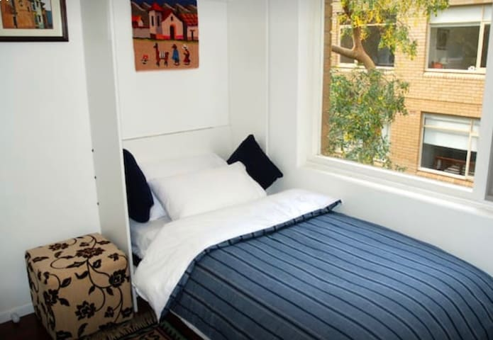 Very comfortable, cozy, clean and tidy bedroom - perfect for 1 person.