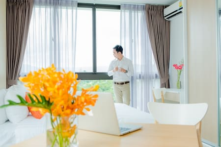 New Peaceful Place Free Daily Cleaning A402C - ภูเก็ต