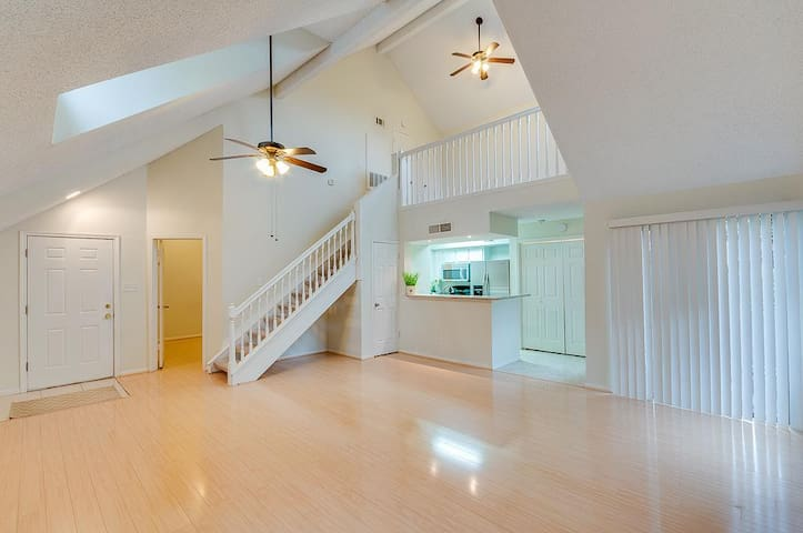 Beautiful 1/1+Loft, close to MD Anderson/Med Ctr