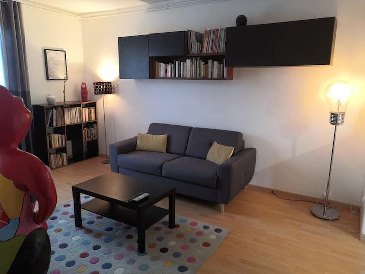 appartement proche de Paris, comme à la maison