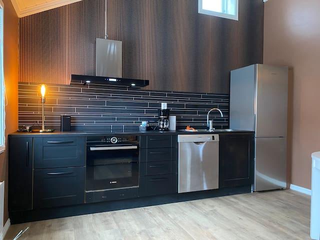 Bodø sentrum. Stilig leilighet med 2 soverom +hems