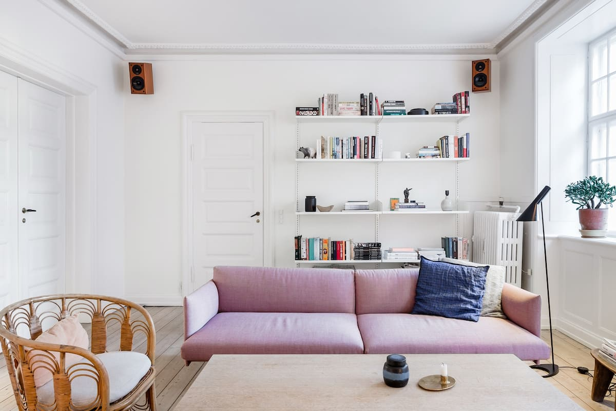 Soak up the Scandi Style at a Pastel-Hued Østerbro Pad