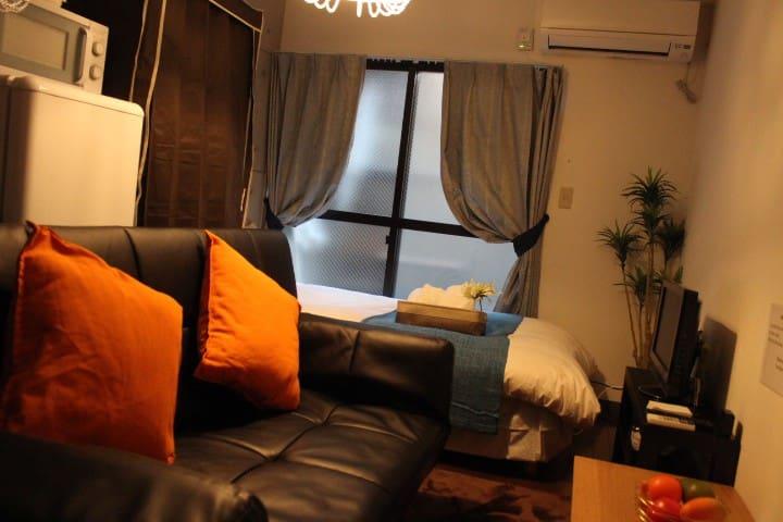 3POK★Subway2min★USJ&Namba&Dotonbori★104★home-wifi - Minato-ku, Ōsaka-shi - Apartament