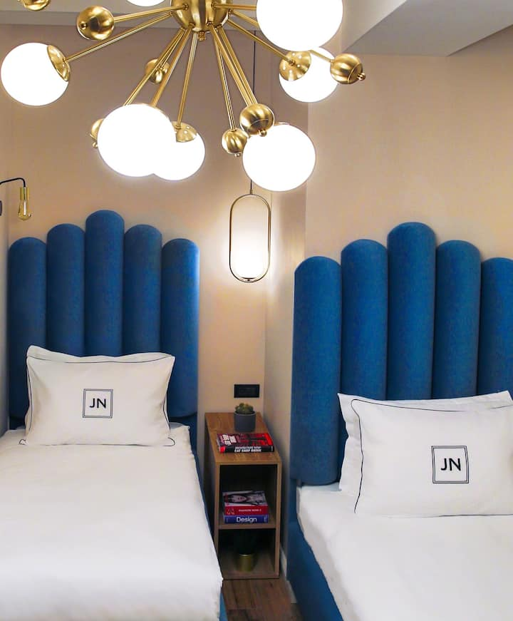 JN Boutique Hotel, Twin Room, 2 Double Beds 306