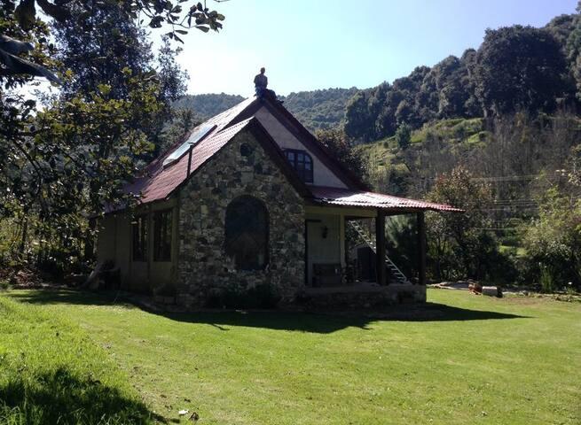 Hermosa Cabaña junto al Bosque