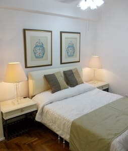 QUEEN Room 2/3 pers@ East Coast/Airport/MRT/Beach - Singapur - Ev