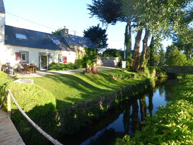 holyday house Batz in water mill near Roscoff