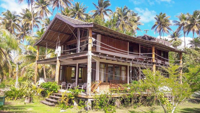 Dream beach house on Boipeba island -  ilha de Boipeba - บ้าน