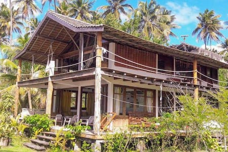 Dream beach house on Boipeba island