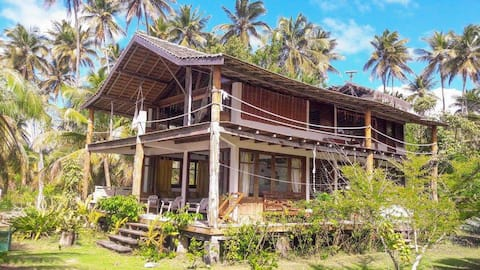 Dream beach house on Boipeba island