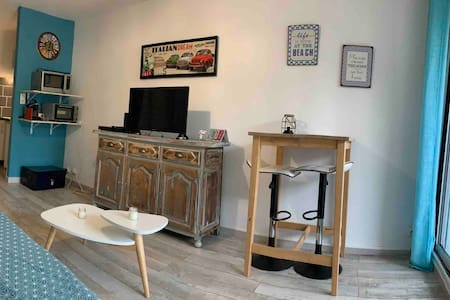 Cosy Studio with free parking & close to the beach