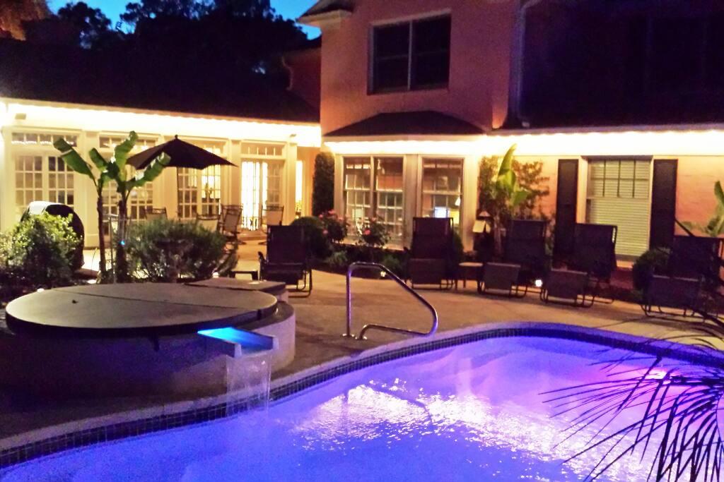 Sea Oaks Evening Terrace Atmosphere