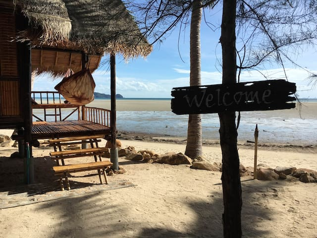 Castaway Beach Bungalows - Your Hammock Awaits.. - Ko Pha-ngan - Bungalov