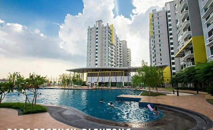 Johor Bahru Apartment 【1-7pax】新山公寓Near Toppen IKEA