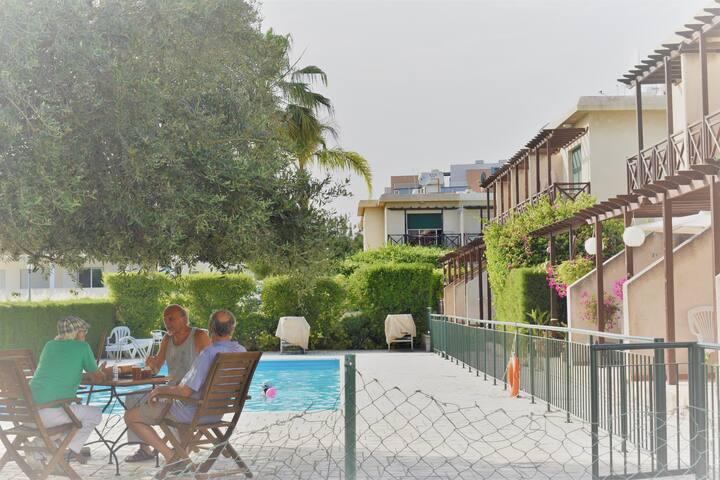 Dasoudi beach maisonette & pool