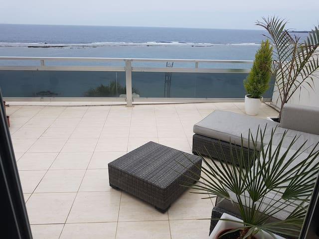 Studio with a big terrece, beach and seaviews - Las Palmas de Gran Canaria - Byt