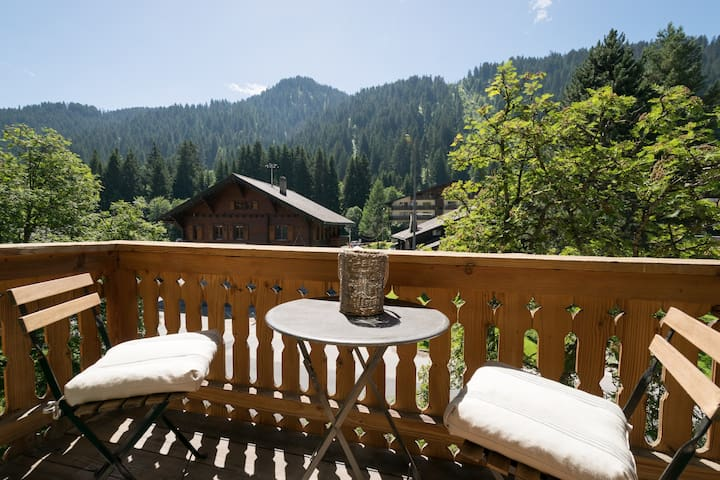 New cosy mountain chalet  - central - Morgins - Chalet