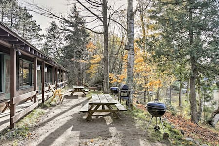 Lakefront Winchester Cabin w/ Deck, Grill & Dock!