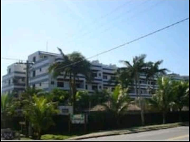 Apartamento na praia de Boraceia
