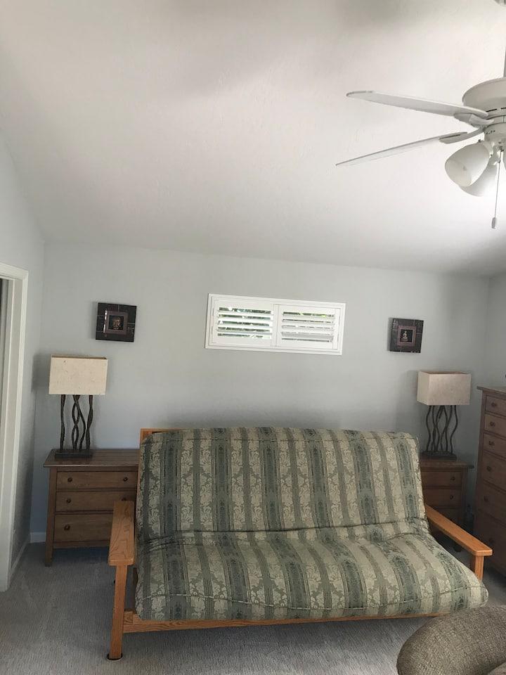 Spacious, Private Master Bedroom Suite