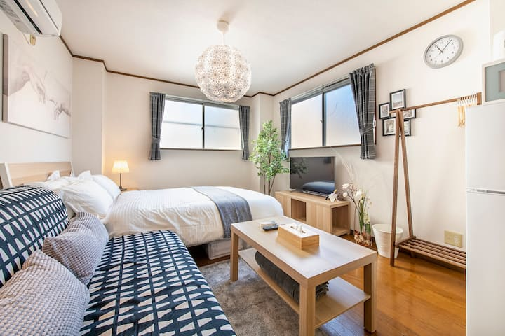 Uhome Ueno Apartment 4, 5 mins to station