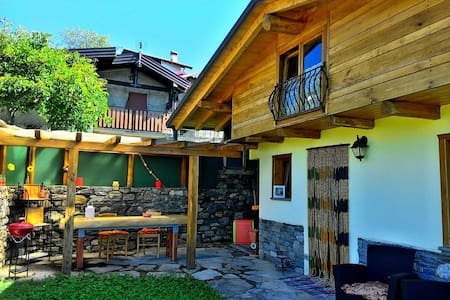 Casa Melissa n. 2 - Chalet with breathtaking view! - Vercana - Cabaña