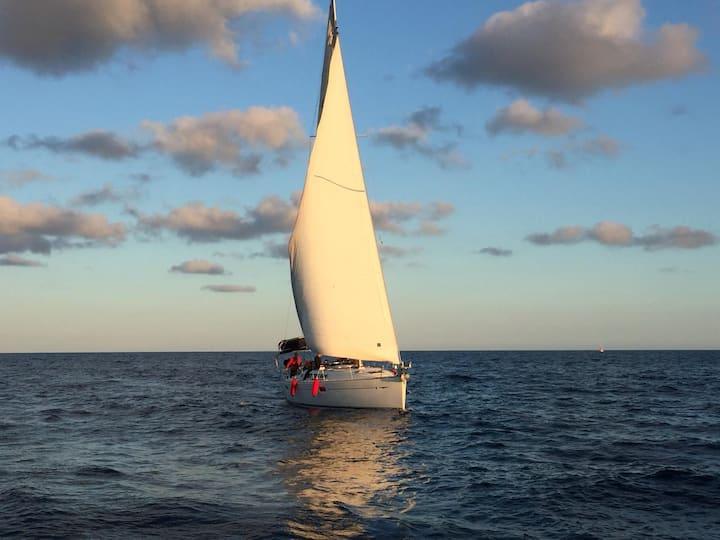 Experience the Mediterranean sea