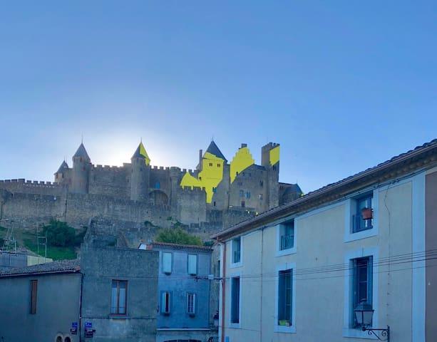 T2 de standing  avec vue sur la  Cité Médiévale