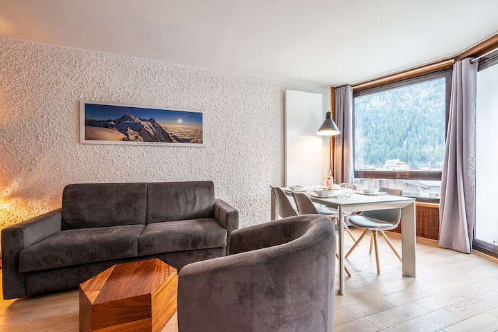 Beausite 70 - Mont Blanc view and great location