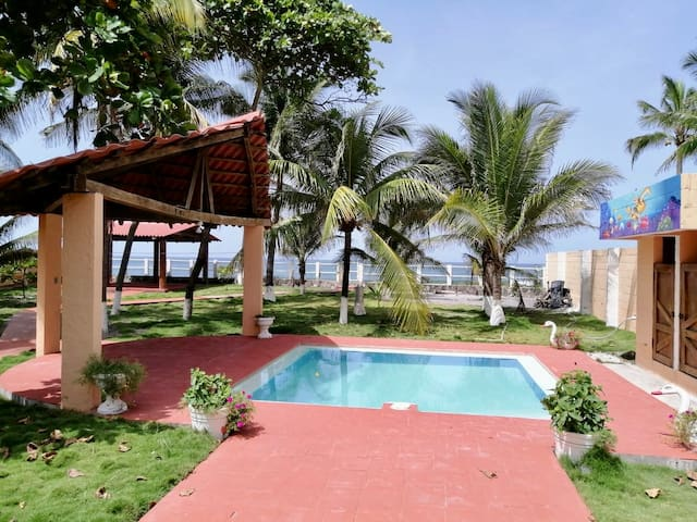 private beachfront villa 15 mints from airport