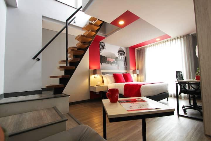 Apartamento estudio con terraza en Unicentro