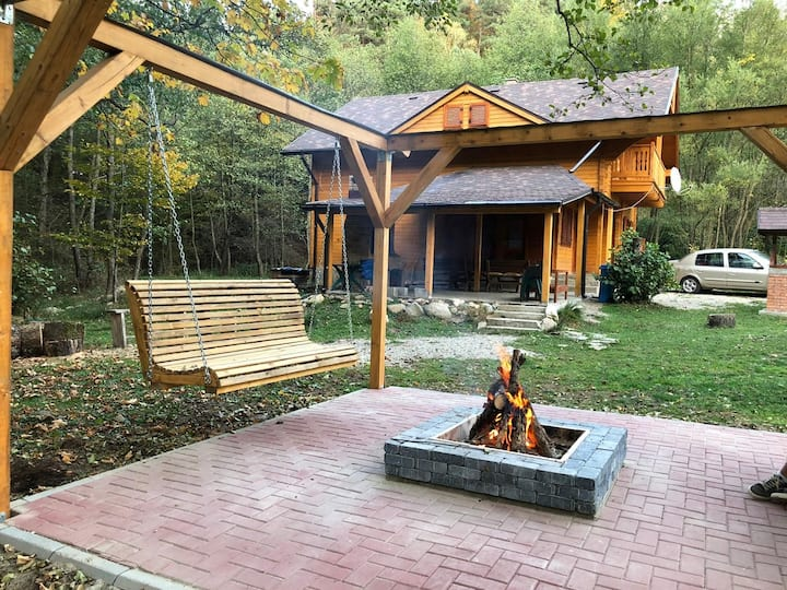 Chalet by the river