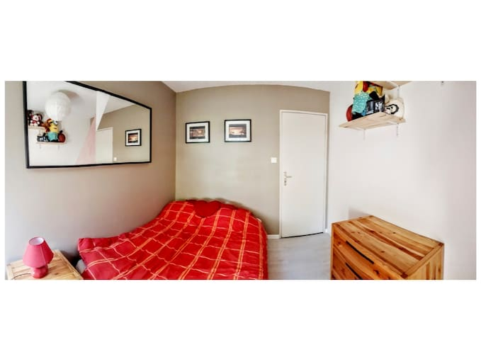 Cosy Room near Strasbourg - Lingolsheim - Appartement