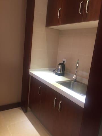 蚌埠商圈核心精装公寓 - 蚌埠 - Appartamento