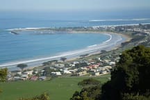 View of Apollo Bay from Marriner's Lookout