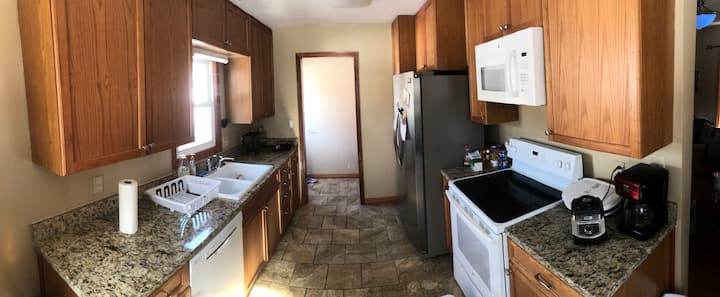 Renovated 4 bedroom 2 bath house with garage, W/D