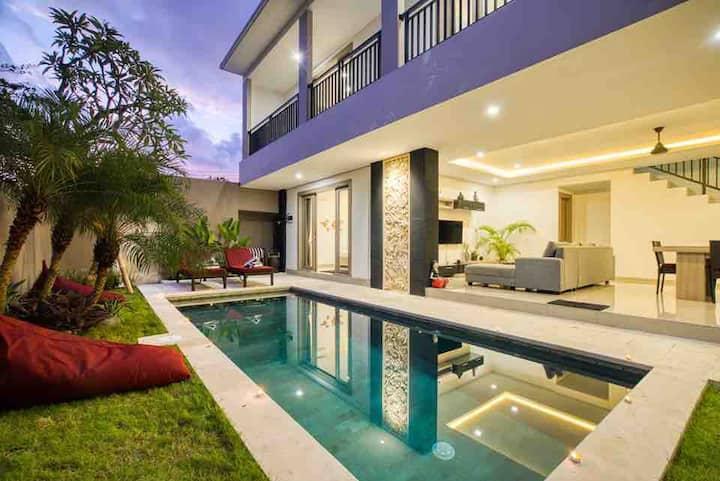 new open 1st, july pool villa Seminyak Kuta