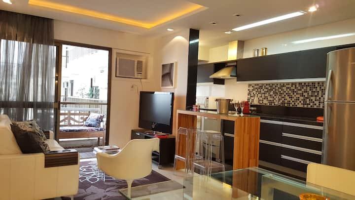 Ipanema 2 Quartos Moderno Luxo