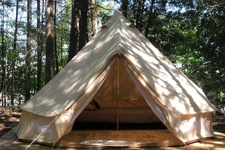 Tiki Hut Yurt- Aloha