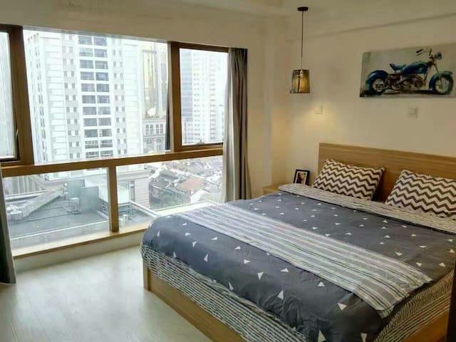 人民广场 外滩 豫园 南京东路 酒店公寓 短租 长租均可 - Shanghai - Appartamento con trattamento alberghiero